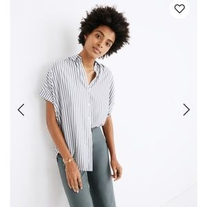 Madewell Central Shirt in Ballard Stripe